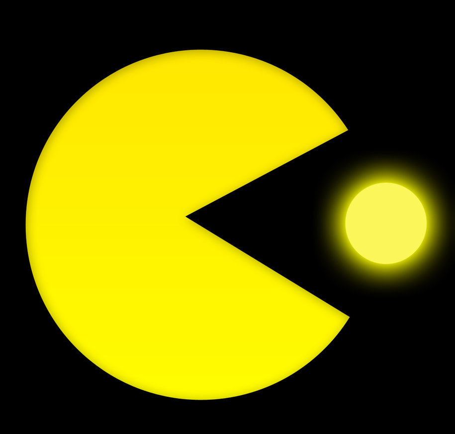 Pac Man And Power Pellets By The Mad Scientist Jpg