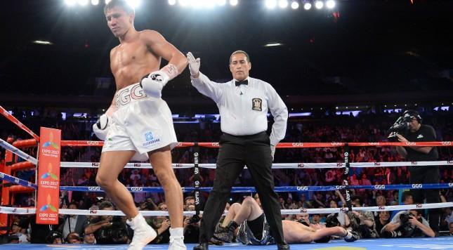 Boxing: Gennady Golovkin vs Daniel Geale