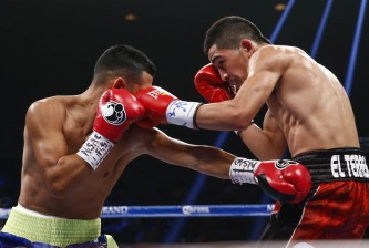 Leo Santa Cruz vs Manuel Roman