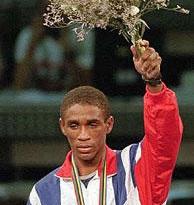 Joel Casamayor - 1992 Olympics (Bill Sikes - AP) 2