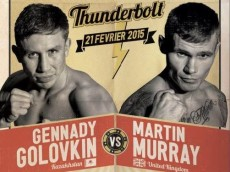 Gennady Golovkin vs Martin Murray Poster