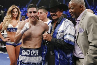 Leo Santa Cruz vs Jose Cayetano
