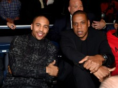 NEW YORK, NY - JANUARY 09:  Andre Ward (L) and Jay-Z attend as Roc Nation Sports Presents: throne boxing At The Theater At Madison Square Garden on January 9, 2015 in New York City.  (Photo by Jamie McCarthy/Getty Images for Roc Nation Sports)