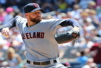 MLB: Cleveland Indians at New York Yankees