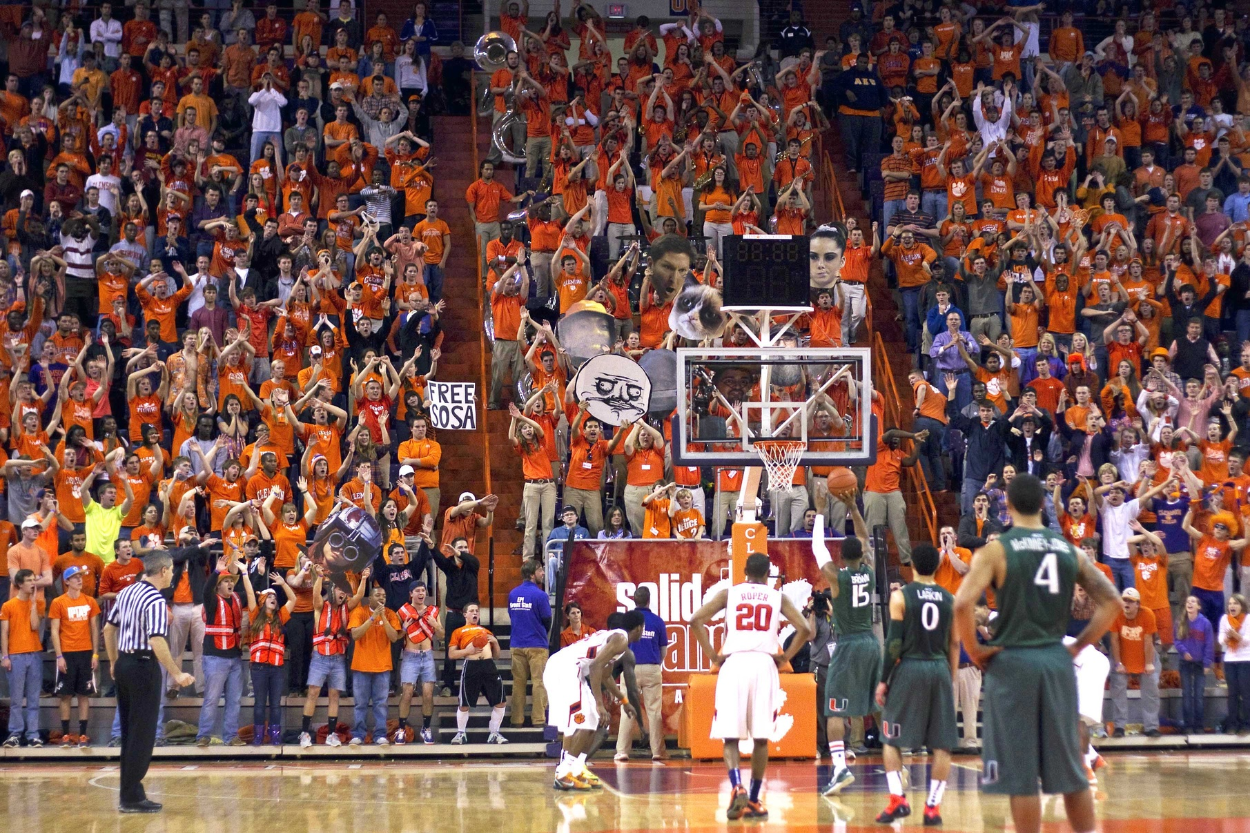 Clemson To Enter Basketball Arms Race With A New Arena