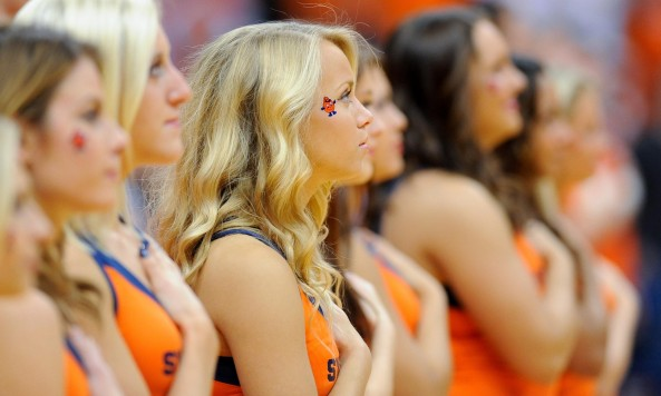 Orange Cheerleaders
