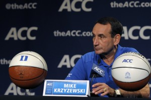 Coach K was a part of two of the more memorable moments in the history of the Final Four's national semifinals. Both moments just happened to unfold in the same building, nine years apart.