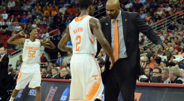 Tennessee made the most of a a favorable draw and is playing its best ball of the season... unlike January and February.