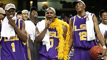 LSU was the central reason the 2006 Final Four fell flat.