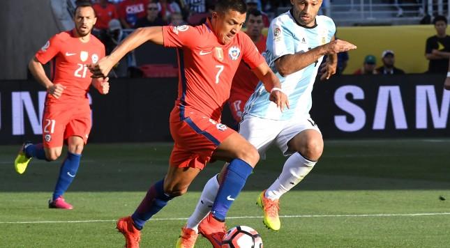 Alexis Sanchez, Copa America, Chile