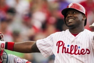 Ryan Howard of the Philadelphia Phillies