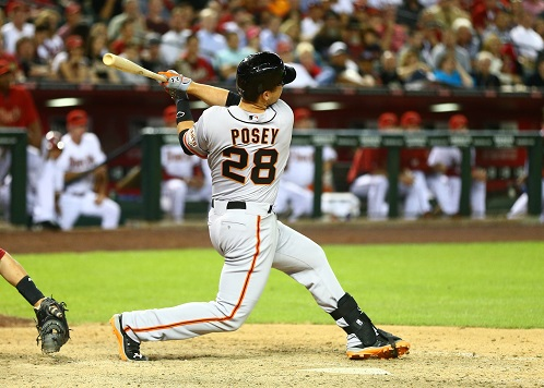 Buster Posey, National League MVP candidate