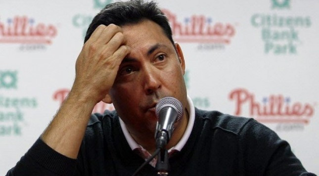 Ruben Amaro of the Philadelphia Phillies