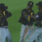 The Pirates outfield