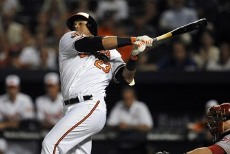 Nelson Cruz of the Orioles