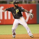 Josh Harrison of the Pittsburgh Pirates