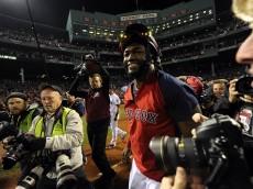 David Ortiz of the Red Sox