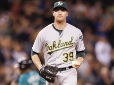 Eric O'Flaherty of the Oakland Athletics