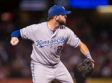 Mike Moustakas of the Royals
