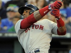 Yoenis Cespedes of the Red Sox