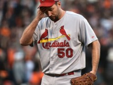Adam Wainwright of the Cardinals