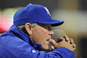 Ned Yost of the Royals
