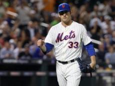 Mets starter Matt Harvey