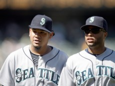 Mariners stars Felix Hernandez and Robinson Cano