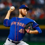 ATLANTA, GA - SEPTEMBER 19:  Zack Wheeler #45 of the New York Mets pitches in the first inning to the Atlanta Braves at Turner Field on September 19, 2014 in Atlanta, Georgia.  (Photo by Kevin C. Cox/Getty Images)