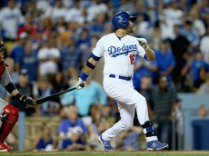 Dodgers outfielder Andre Ethier