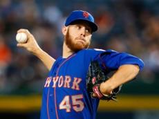 Mets starter Zack Wheeler