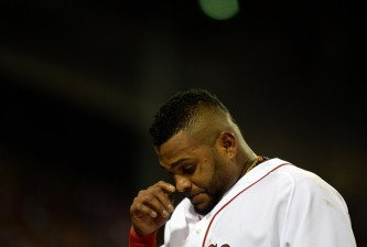Red Sox third baseman Pablo Sandoval