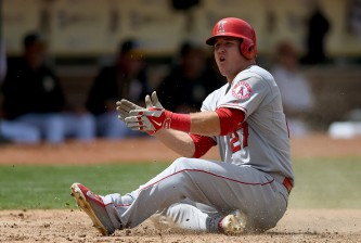 MVP candidate Mike Trout