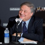 MIAMI, FL - NOVEMBER 19: Miami Marlins owner Jeffrey Loria speaks during a press conference at Marlins Park on November 19, 2014 in Miami, Florida.  (Photo by Rob Foldy/Getty Images)