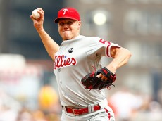 PITTSBURGH, PA - JUNE 14: Jonathan Papelbon #58 of the Philadelphia Phillies pitches against the Pittsburgh Pirates in the 10th inning during the game at PNC Park on June 14, 2015 in Pittsburgh, Pennsylvania.  (Photo by Jared Wickerham/Getty Images)