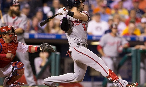 PHILADELPHIA, PA - SEPTEMBER 15: Bryce Harper #34 of the Washington