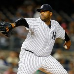 NEW YORK, NY - SEPTEMBER 25:  CC Sabathia #52 of the New York Yankees pitches in the second inning against the Chicago White Sox at Yankee Stadium on September 25, 2015 in the Bronx borough of New York City.  (Photo by Jim McIsaac/Getty Images)