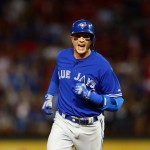 ARLINGTON, TX - OCTOBER 11:  Troy Tulowitzki #2 of the Toronto Blue Jays rounds the bases after hitting a three run home run against Chi Chi Gonzalez #21 of the Texas Rangers in the sixth inning during game three of the American League Division Series on October 11, 2015 in Arlington, Texas.  (Photo by Ronald Martinez/Getty Images)