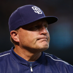PHOENIX, AZ - JUNE 21: Interim Manager Pat Murphy of the San Diego Padres walks off the field during the eighth inning of MLB game against the Arizona Diamondbacks at Chase Field on June 21, 2015 in Phoenix, Arizona. The Diamondbacks defeating the Padres 7-2. (Photo by Christian Petersen/Getty Images)