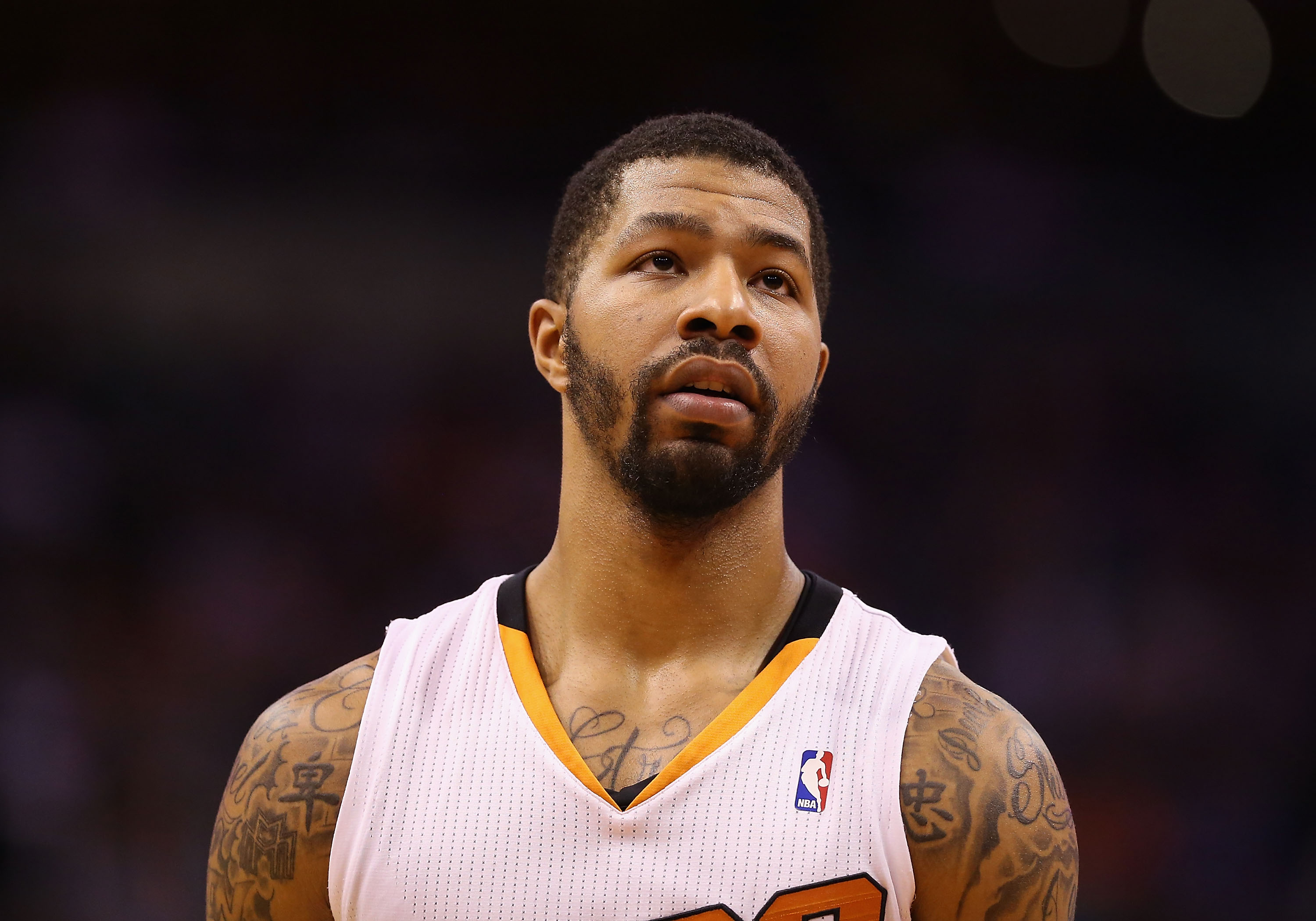 What did Markieff Morris ride away on after being traded from the Suns?