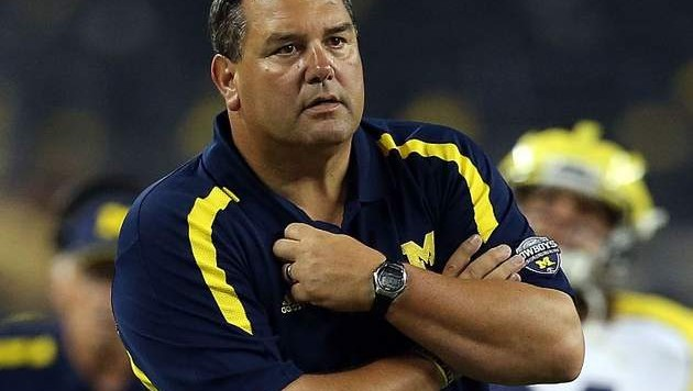 Brady Hoke has worn this look of concern for the past few seasons. He needs to find answers in Ann Arbor... but it's not as though he's the only person to blame for Michigan's problems.