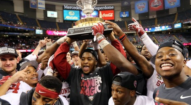 Oklahoma was just better than Alabama in the 2014 Sugar Bowl. And motivation is part of being great.