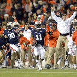 """This image gets the point across: Auburn didn't do things in a conventional way last season. The Tigers won in a way that could be characterized as anything but """"normal."""""""