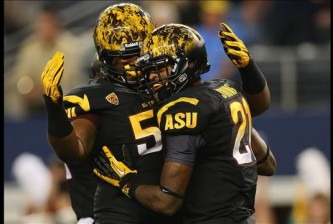 As far as uniform combinations go, Arizona State has a hell of a creative advantage on most everyone else.