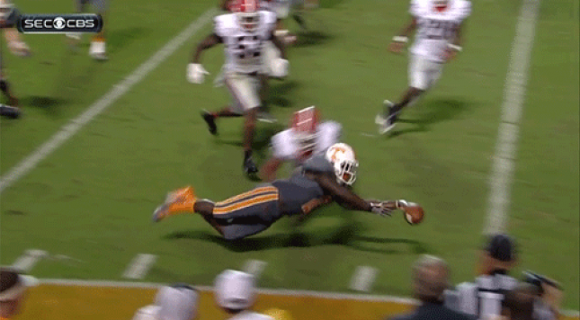 Tennessee was a victim of one of the dumbest rules college football enforces last season.