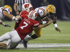 NCAA Football: Texas Kickoff-Wisconsin vs Louisiana State
