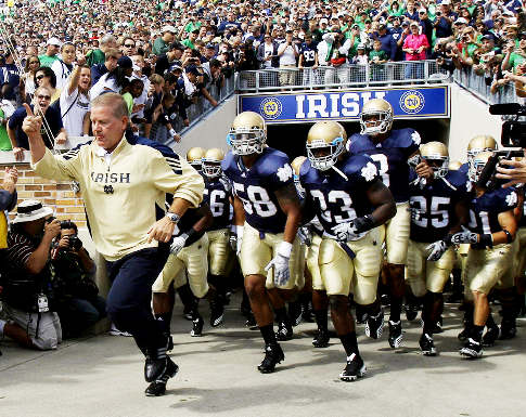Notre Dame Football S Deadly Sin The Student Section