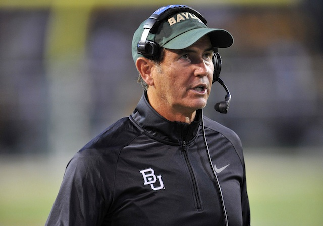 Baylor head coach Art Briles watched his team become a short-field producer last season. Was the arrival of a Big 12 title a mere coincidence? We think not.