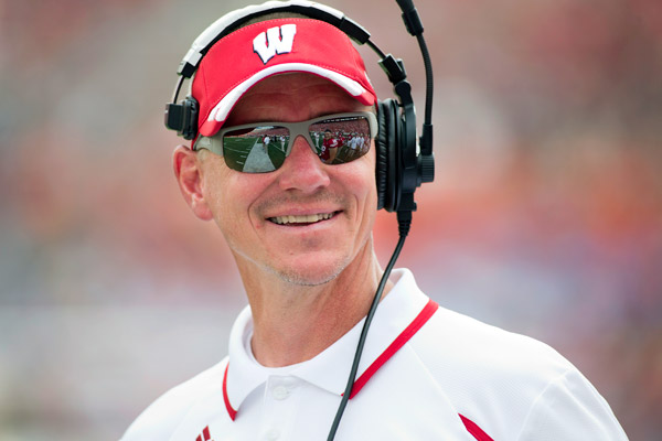 Gary Andersen has a lot to work with at Wisconsin. That's the good news. Andersen, as he begins his second year in Madison, has to display ownership of Wisconsin as the program moves farther away (in both space and time) from the reign of Bret Bielema. That's the pressure Andersen faces in 2014 -- if the season is a disappointment, you know Andersen will face a lot of questions entering 2015.