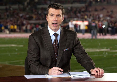 Rece Davis is widely loved and universally recognized as an excellent broadcaster. It is therefore all the more remarkable that College Football Final manages to disappoint, and even offend, a large number of college football fans. Rece has virtually nothing to do with it. It's all the result of Mark Mary, Lou Holtz... and ESPN's belief that a college football version of First Take is good for business.